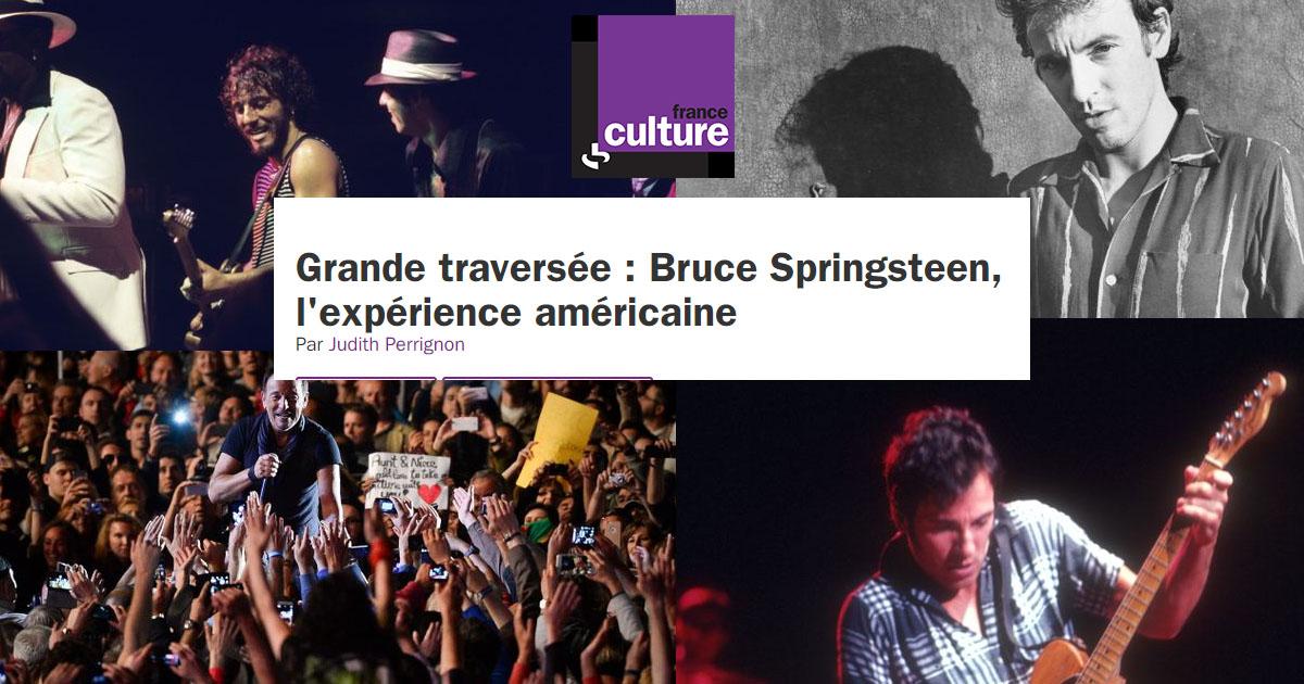 Bruce Springsteen sur France Cul